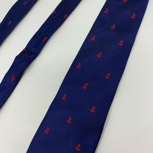 J. Crew Silk Anchor Tie